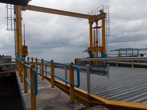 Pembangunan Fasilitas Pelabuhan Siau (Catwalk & Movable Bridge) - Sulur