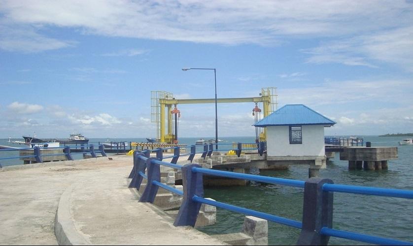 Pembangunan Dermaga Penyeberangan ASDP Dobo - Maluku