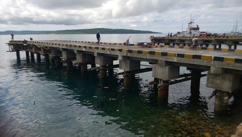 Pembangunan Dermaga Tenau - Kupang