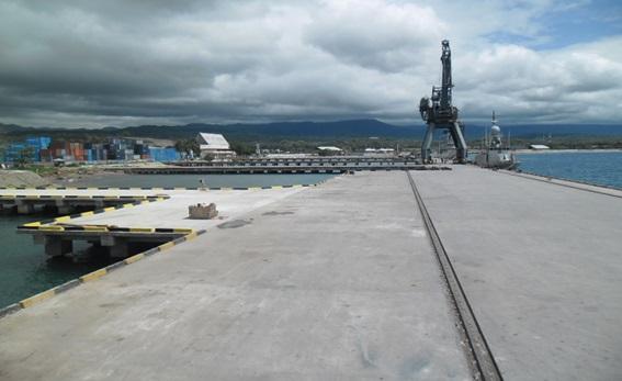 Pembangunan Dermaga Pantoloan - Sulteng