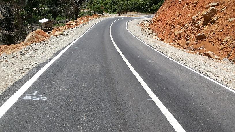 Pembangunan Jalan Matali - Torosik - Sulut