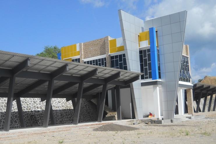 Pembangunan Terminal Angkutan Kota, Kota Manado - Sulut