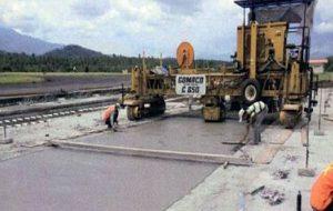Slipform Concrete Paver