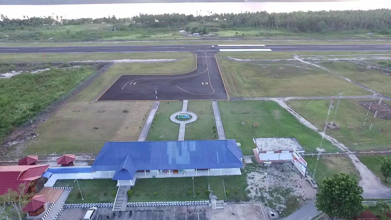 Pembangunan Bandara Melonguane - Sulut