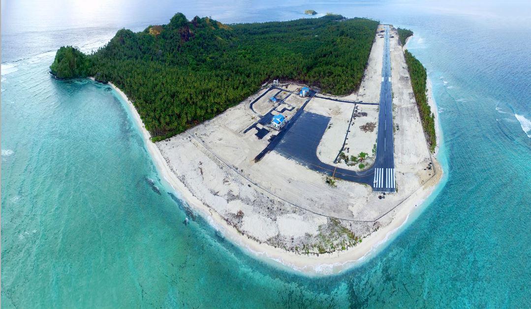 Pembangunan Bandara Miangas - Sulut
