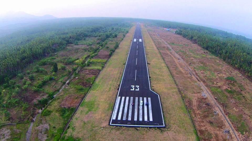 Pembangunan Runway Bandara Naha - Sulut