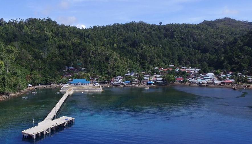 Pembangunan Pelabuhan Ngalipaeng - Sulut