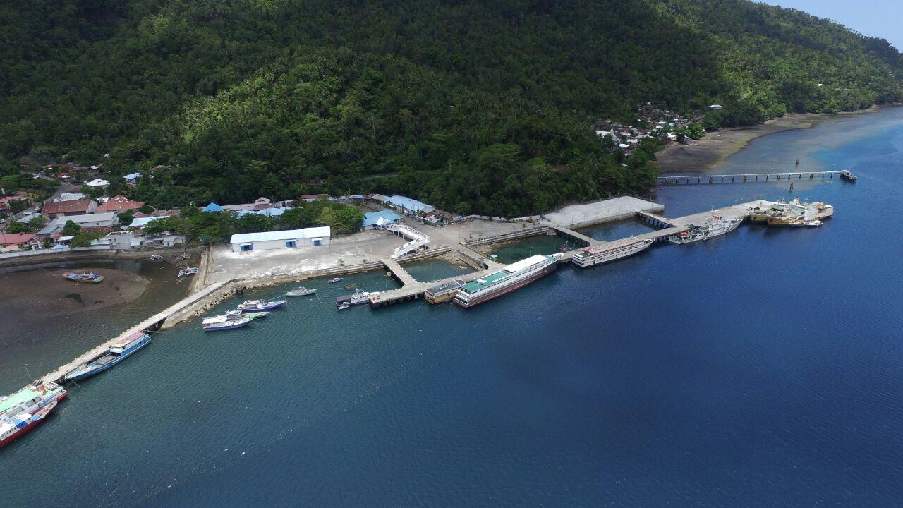 Pembangunan Pelabuhan Tahuna - Sulu